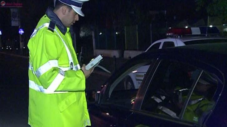 Șofer rupt de beat la volan, depistat de polițiști pe strada Elicei