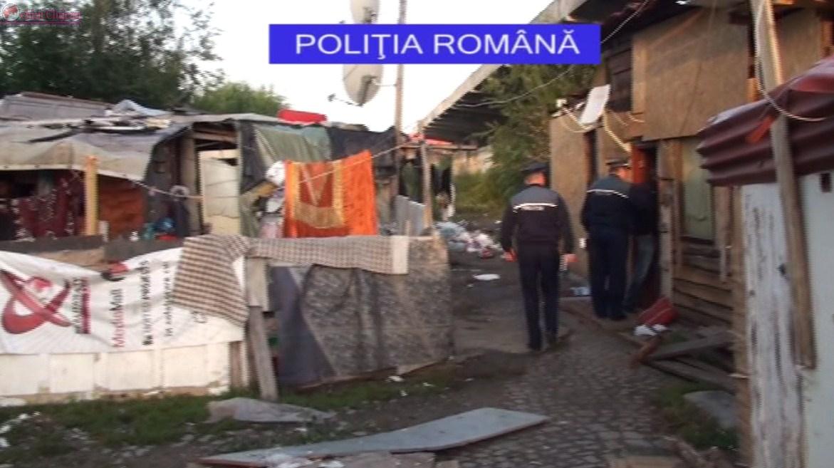 Acțiune de amploare a polițiștilor clujeni pe Calea Dezmirului. Ce au găsit VIDEO