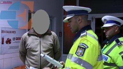 Dosar penal pentru un șofer beat. Avea o alcoolemie RECORD