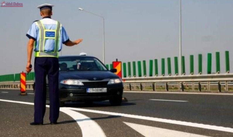Vitezoman prins cu peste 200 km/h pe Autostrada Transilvania