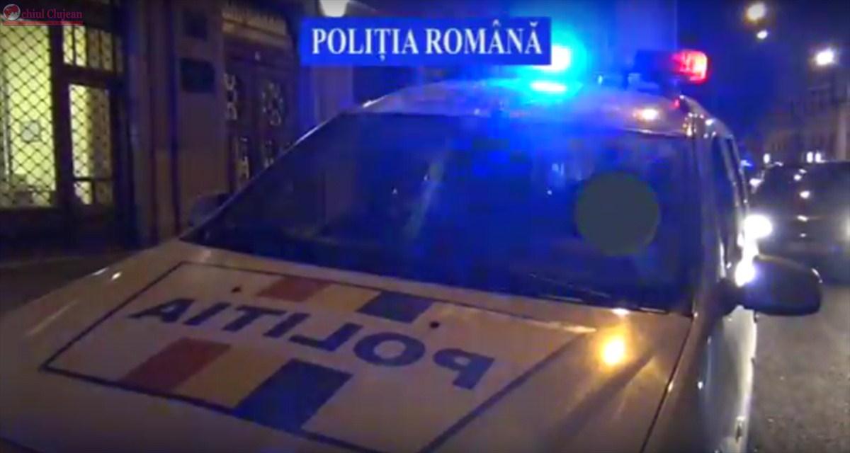 Razie la Cluj-Napoca! Zeci de mașini au fost verificate. Polițiștii au aplicat amenzi de peste 4.000 de lei