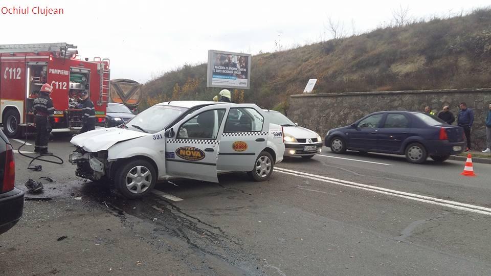 Accident GRAV pe strada Frunzisului! Soferul vinovat, mort de beat si fara permis a fost  retinut pentru 24 de ore – FOTO