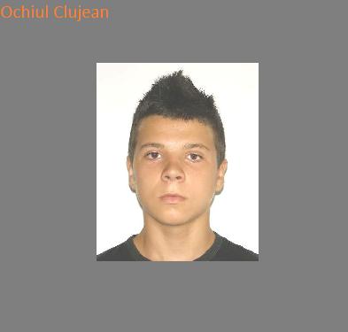 Copil de 16 ani, din Dej, a disparut de acasa. L-ati vazut? -FOTO