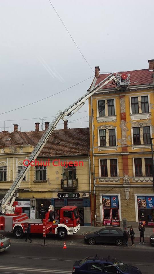 Protejarea cetățenilor de riscul de accidentare prin desprinderea de elemente din construcțiile istorice din Cluj-Napoca