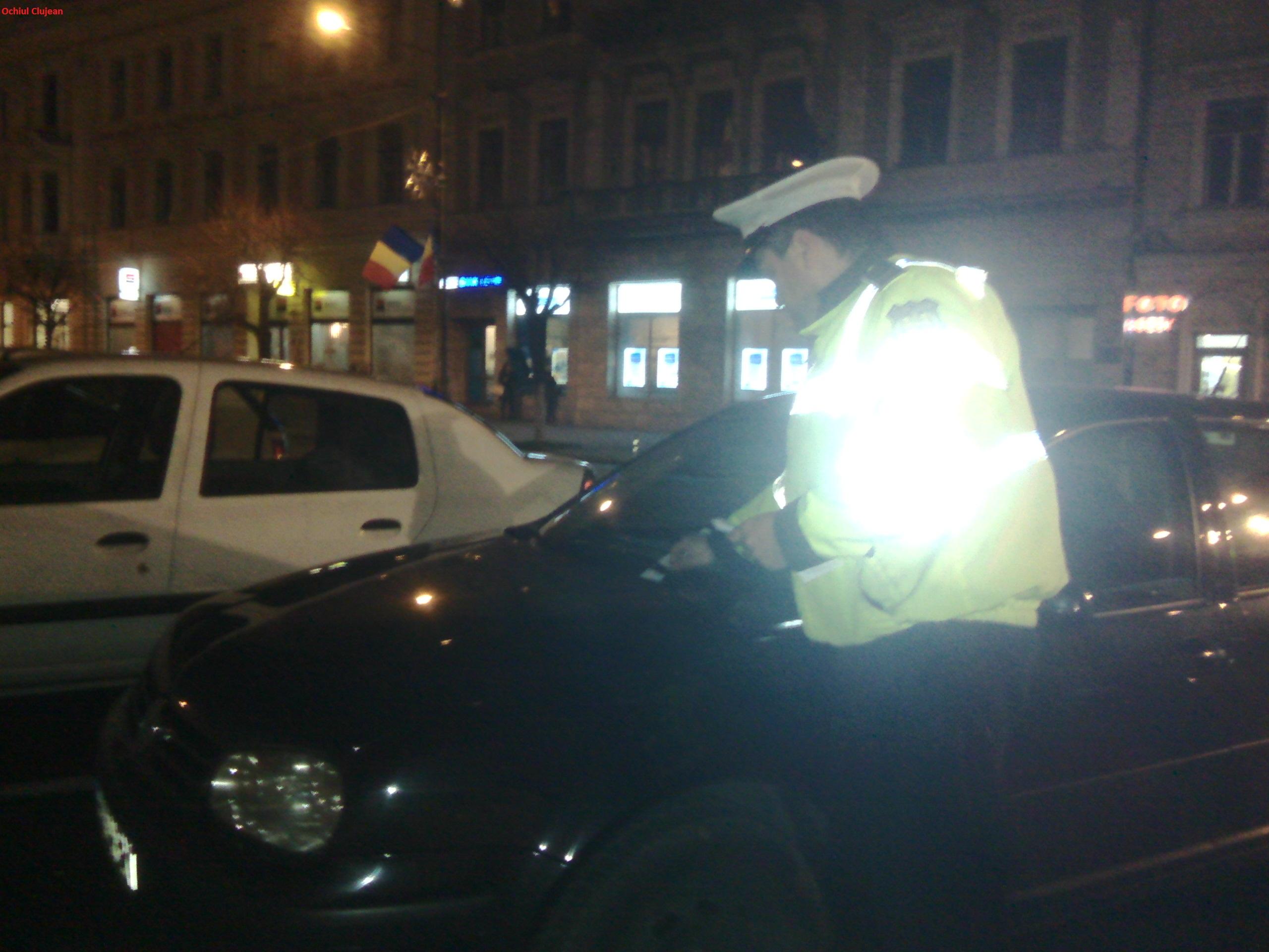 Actiuni de amploare ale politistilor clujeni. Cate amenzi au dat