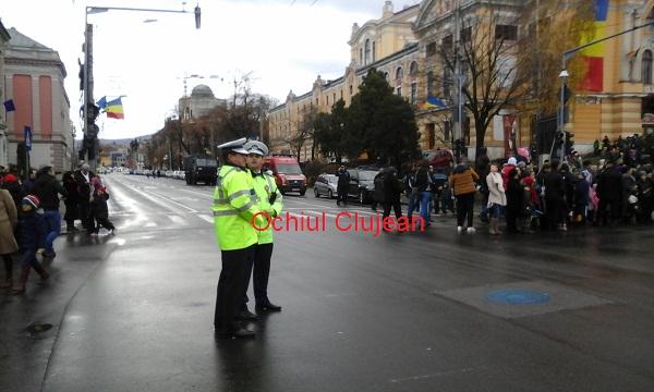 Sarbatori in siguranta! Ce sanctiuni au aplicat politistii clujeni de Ziua Nationala a Romaniei