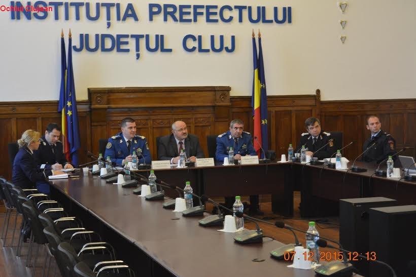 """""""Porolissum 15""""- Exerciţiul de pregătire a efectivelor  din structurile de ordine şi siguranţă naţională din judeţul Cluj"""