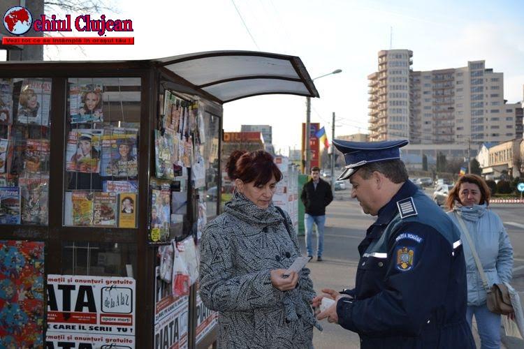 """Acțiuni preventive în cadrul campaniei ,,SĂRBĂTORI DE IARNĂ ÎN SIGURANȚĂ"""" -FOTO"""