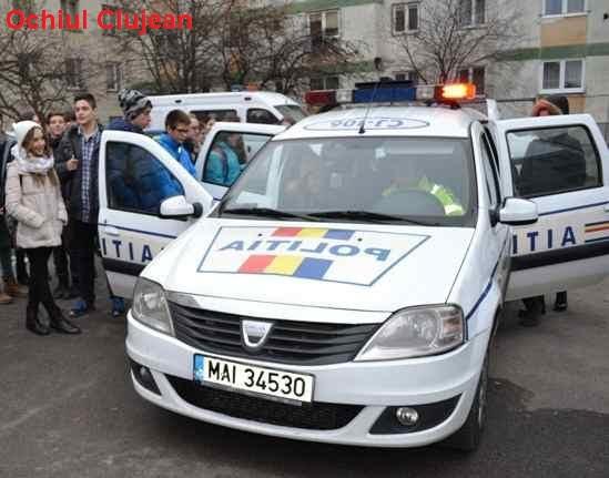 Activitati preventive ale politistilor cu elevii clujeni – FOTO