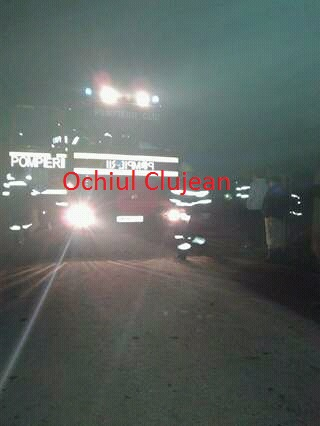 Barbat prins sub pamant in Livada. Pompierii l-au salvat FOTO