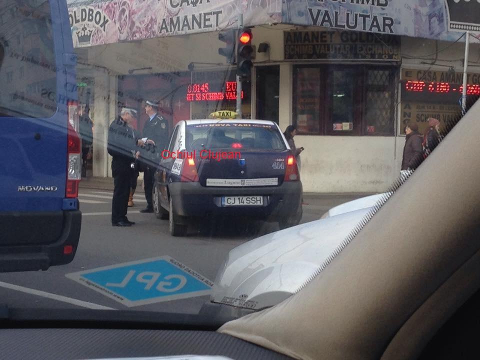 Amenzi pentru taximetriștii care folosesc stațiile C.T.P.