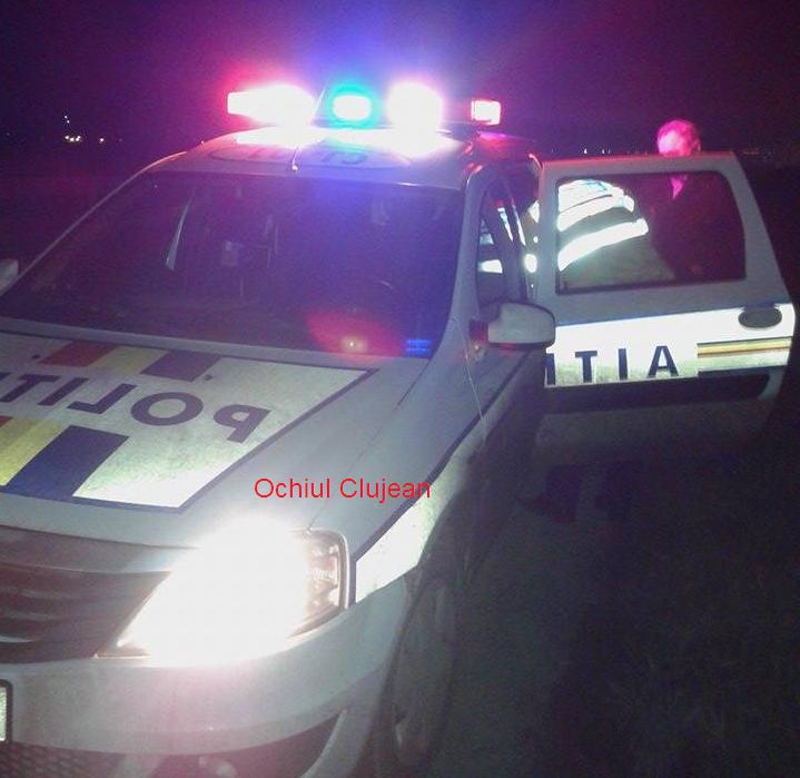 Bărbat din Apahida depistat în trafic, la volanul unui autoturism neînmatriculat