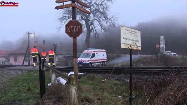 Bărbat din Maramureș spulberat de tren la ieșire din Cluj VIDEO