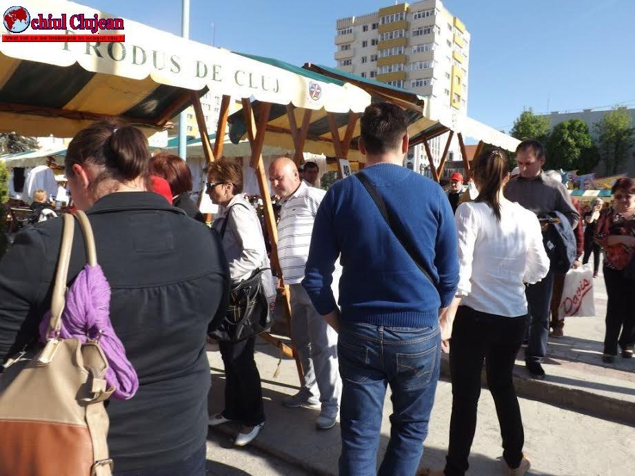 """Zalăul sub """"ocupaţia"""" clujenilor la Târgul Produs de Cluj FOTO"""