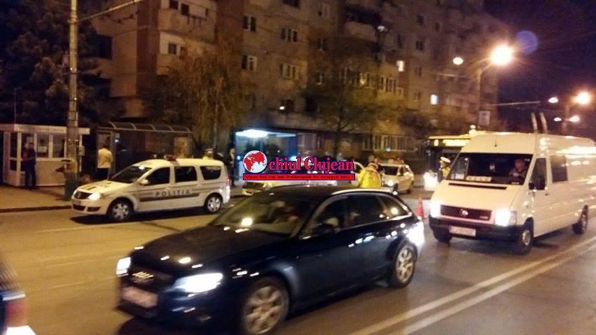 UPDATE Accident cu pagube de 4.400 de lei, pe Calea Mănăștur. O persoană a fost rănită FOTO