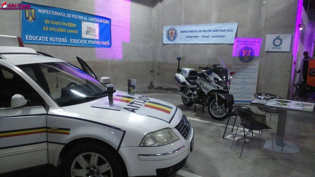 Polițiștii clujeni prezenți la TRANSILVANIA TUNING SHOW