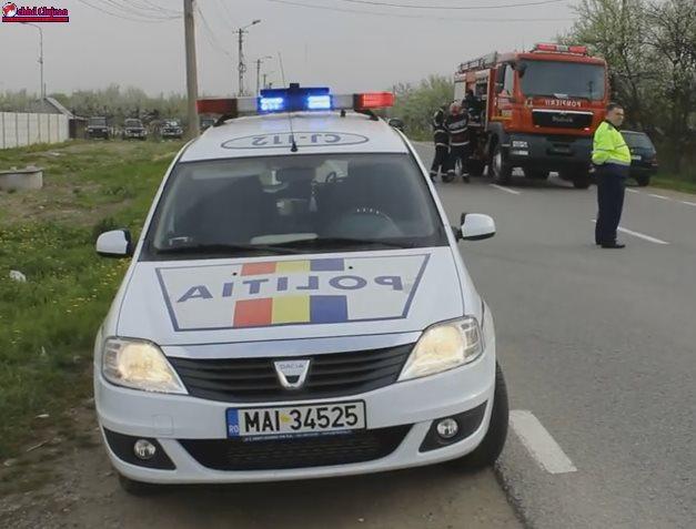 Accident cu 9 victime în Căpușu-Mare! Coliziune între un autotursim și un microbuz