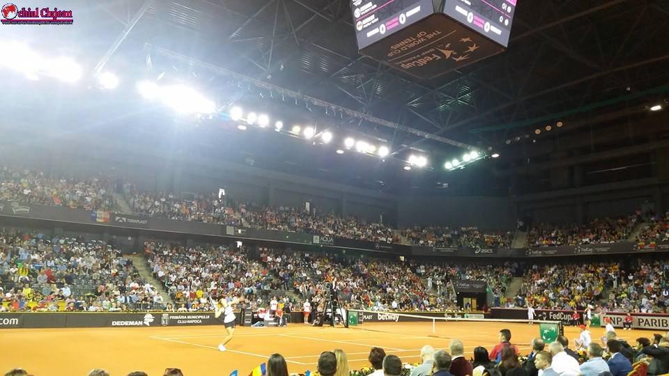 România a pierdut primul meci cu Germania, în duelul de tenis! Angelique Kerber a învins-o pe Begu