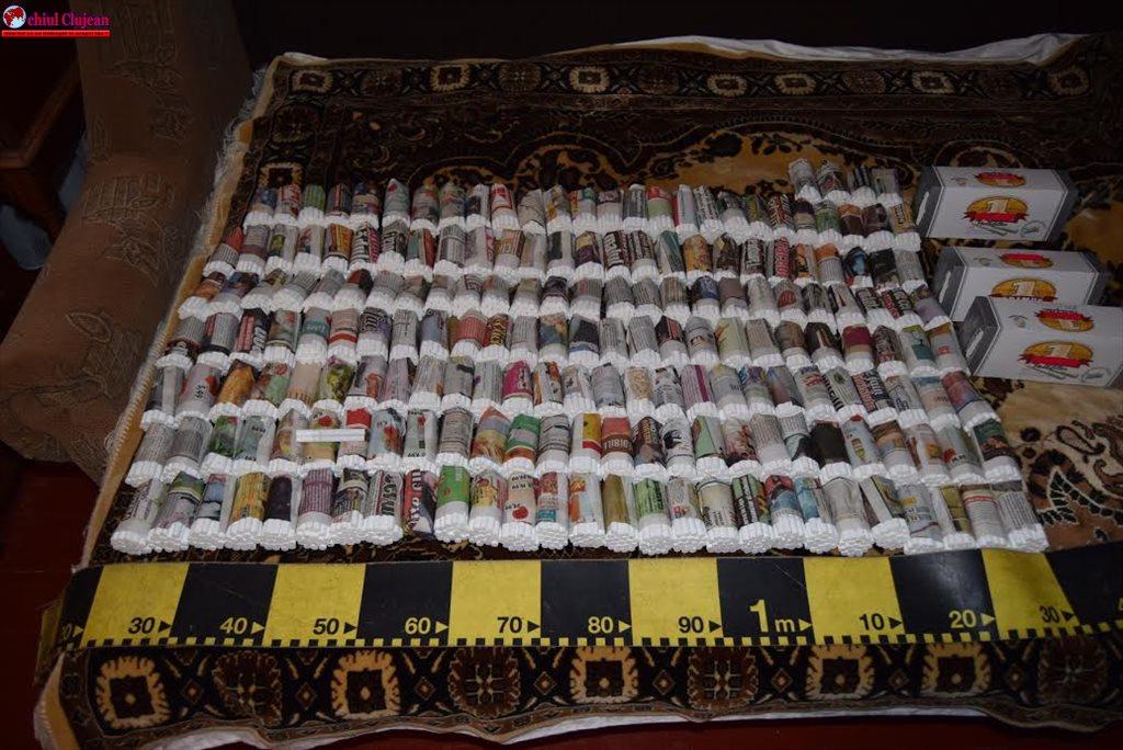 Percheziții la persoane bănuite de deținere și comercializare ilegală de tutun FOTO