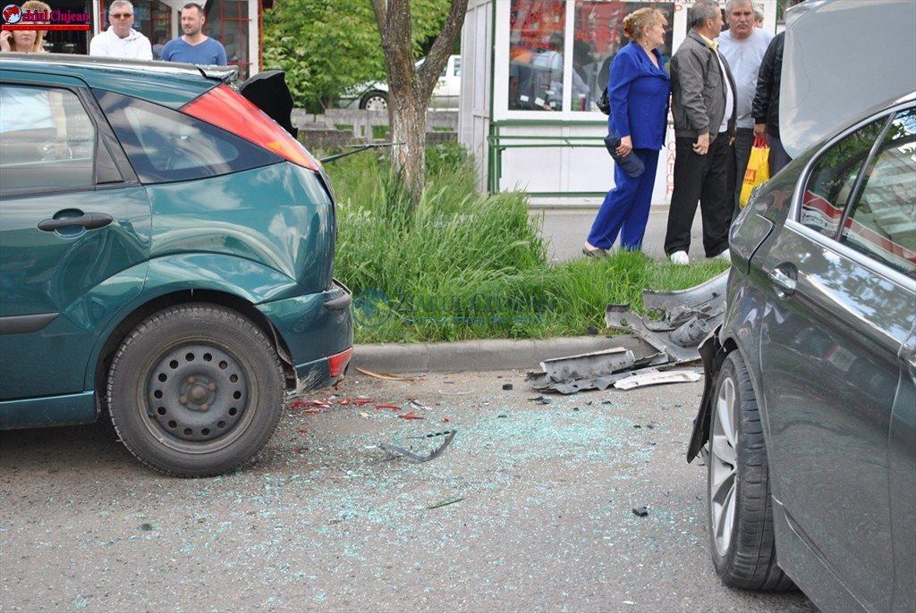 Accident în Mărăști! Patru autoturisme implicate FOTO