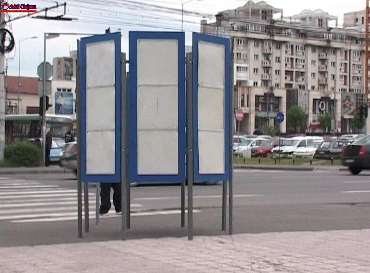 Cluj-Napoca: 16 zone pentru afișaj electoral