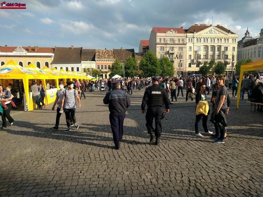 RECOMANDĂRI ale poliției clujene pentru un sfârșit de săptămână în siguranță