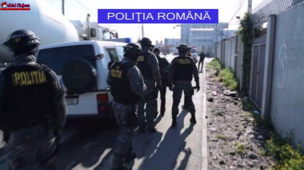 Urmărit național depistat în urma unei acțiuni de amploare în zona Pata Rât VIDEO