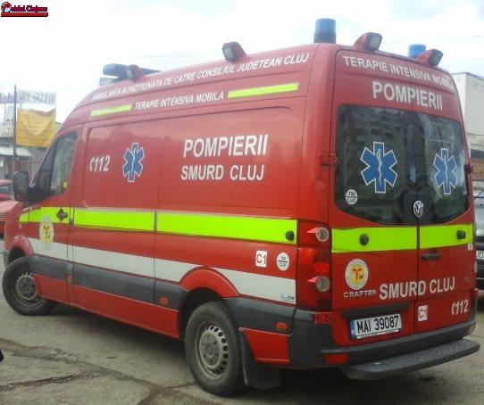 Accident grav în Florești! Impact violent între două mașini