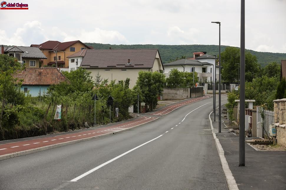 Strada Făget a fost modernizată FOTO