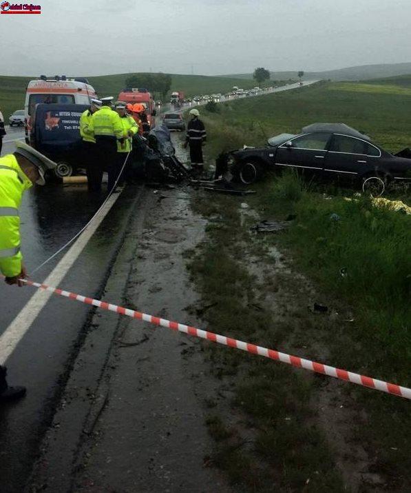 Accident MORTAL între Copăceni și Tureni. Trei persoane au decedat FOTO