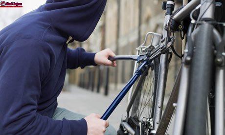 Cercetați pentru furtul unei biciclete