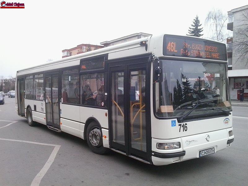 CTP Cluj suplimentează numărul de curse pe linia 46. Vezi detalii