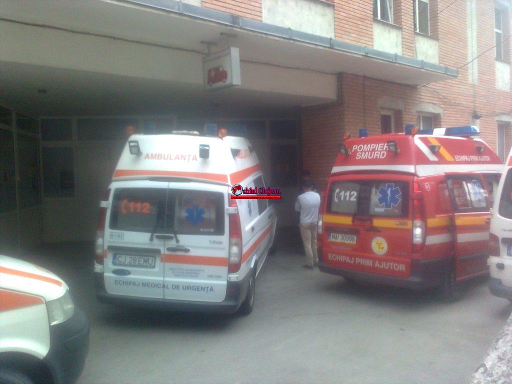 Cluj: Tânără lovită de tren în Apahida