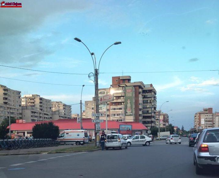 Accident lângă Profi Mărăști FOTO