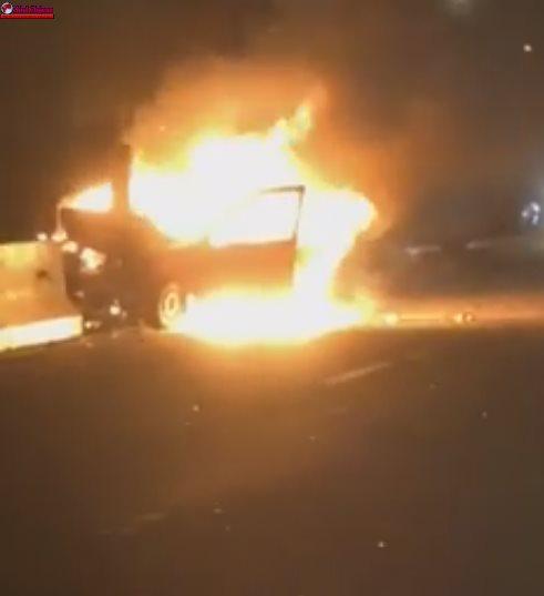 Accident TRAGIC la Tureni! Un șofer și-a pierdut viața după ce a intrat cu mașina într-un parapet VIDEO