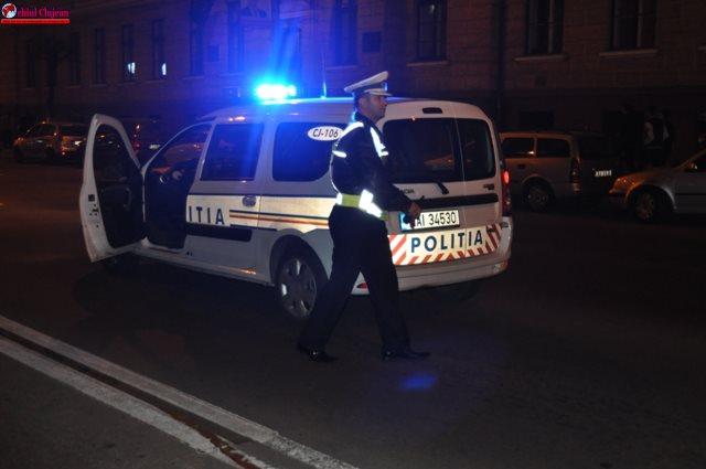 Cluj: Acțiuni ale polițiștilor rutieri
