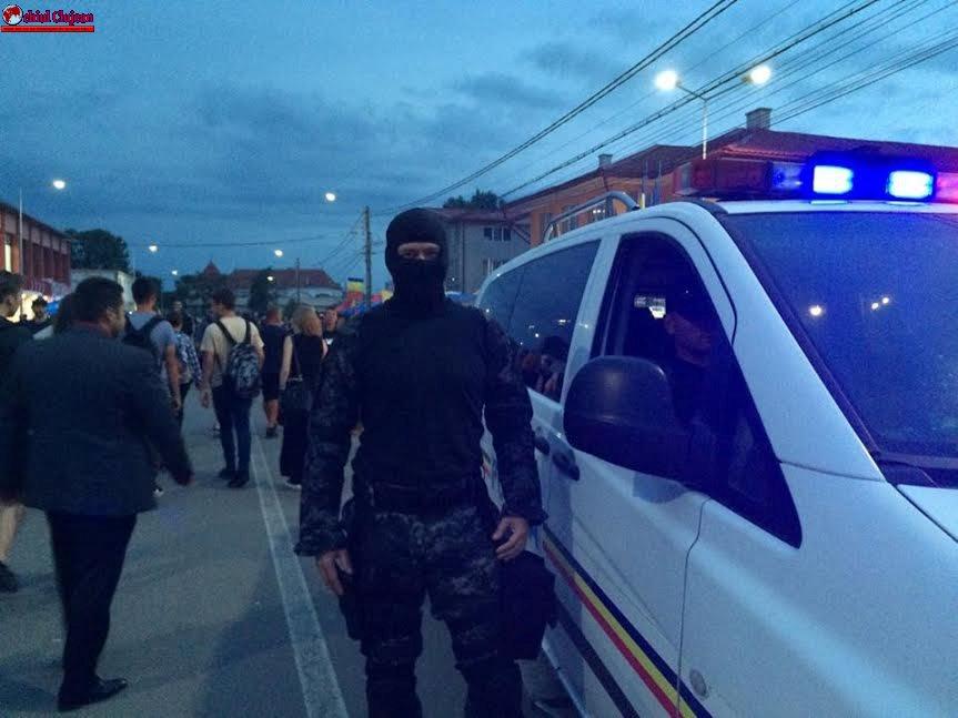 Cluj: Acțiuni ale polițiștilor, la sfârșit de săptămână