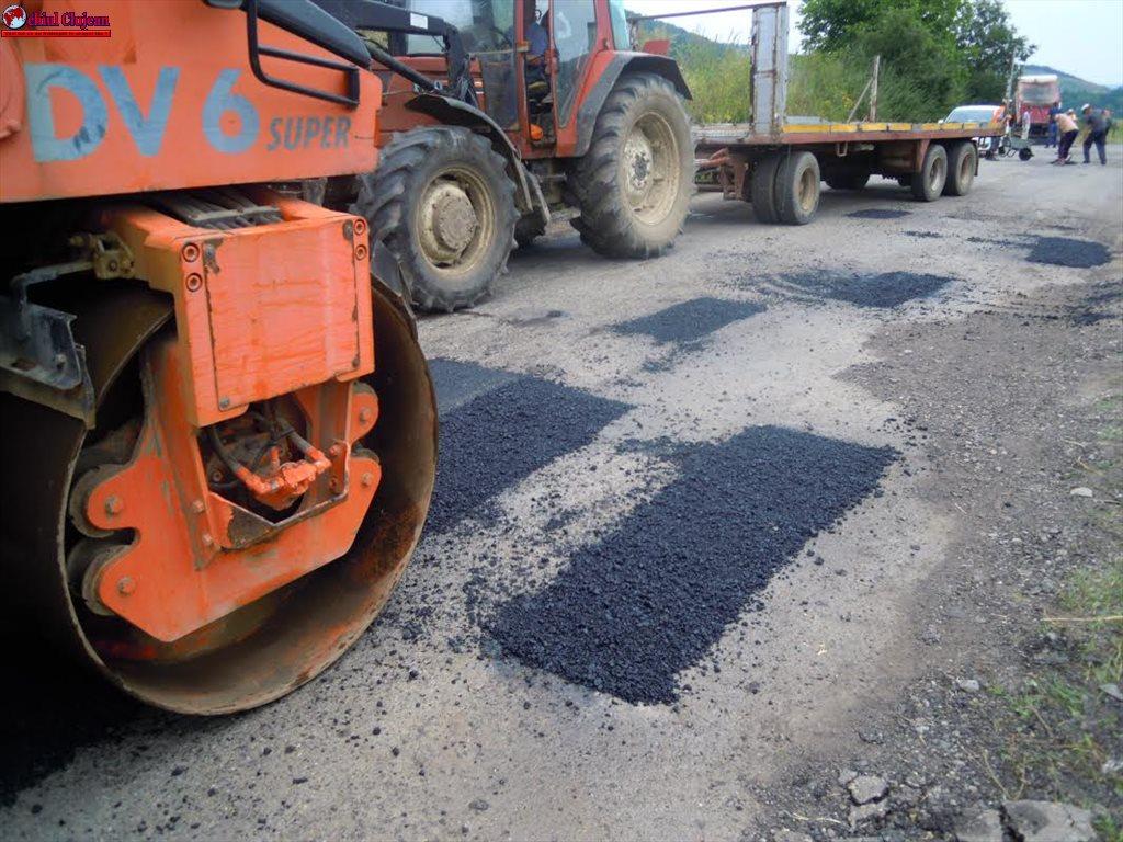 Drumul județean DJ 109A Panticeu – Recea Cristur – Căprioara intră în reparaţii FOTO