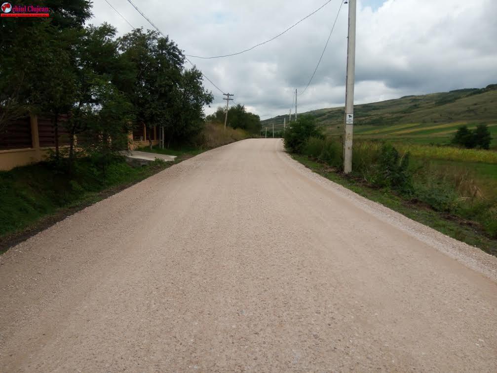 Reabilitarea și modernizarea drumului judeţean Fundătura-Cornești FOTO