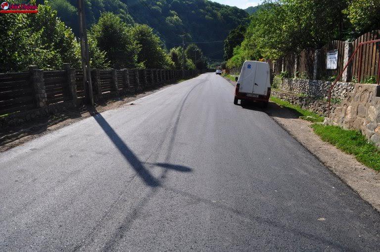 Modernizarea drumului judeţean Băişoara – Valea Ierii FOTO