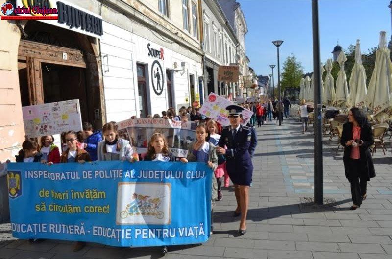 "IPJ Cluj -""Săptămânii Prevenirii Criminalităţii"""