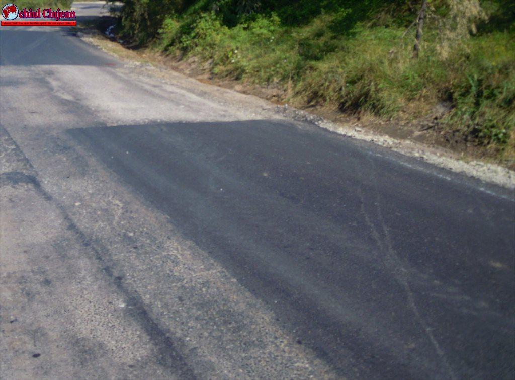 Au fost finalizate lucrările de întreţinere pe drumul judeţean DJ 107J Valea Ierii – Caps