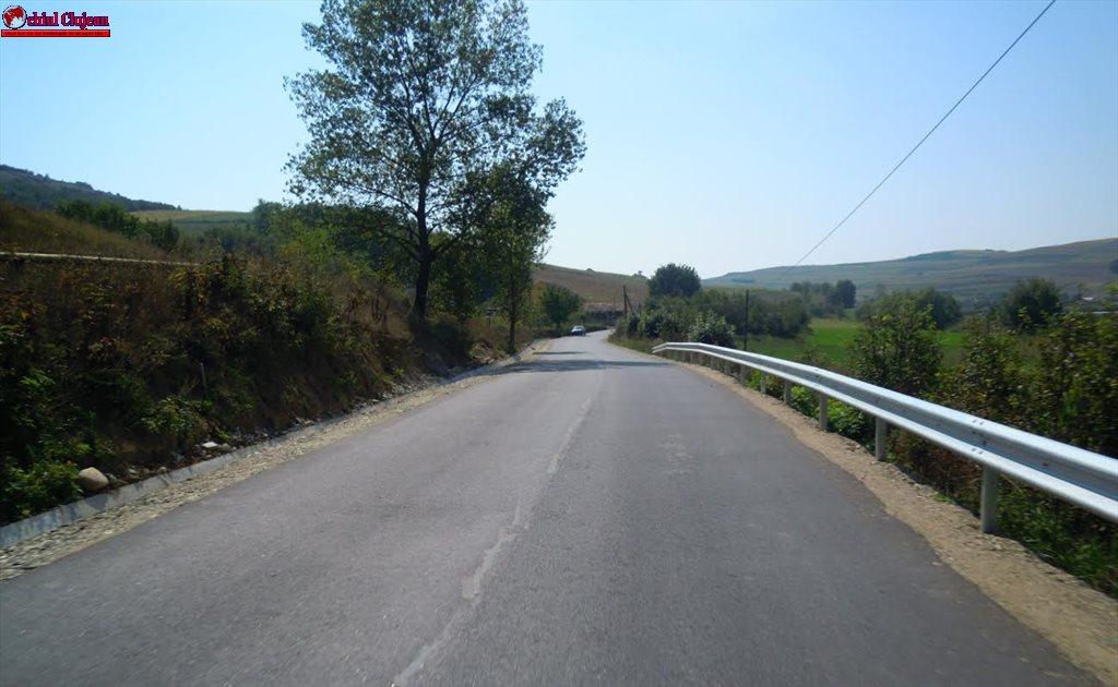 Lucrări finalizate pe drumul judeţean DJ 161E Habadoc – Buza – Feldioara – Hodaie FOTO