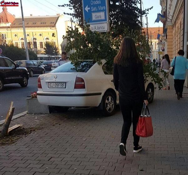 Accident în Piata Avram Iancu FOTO