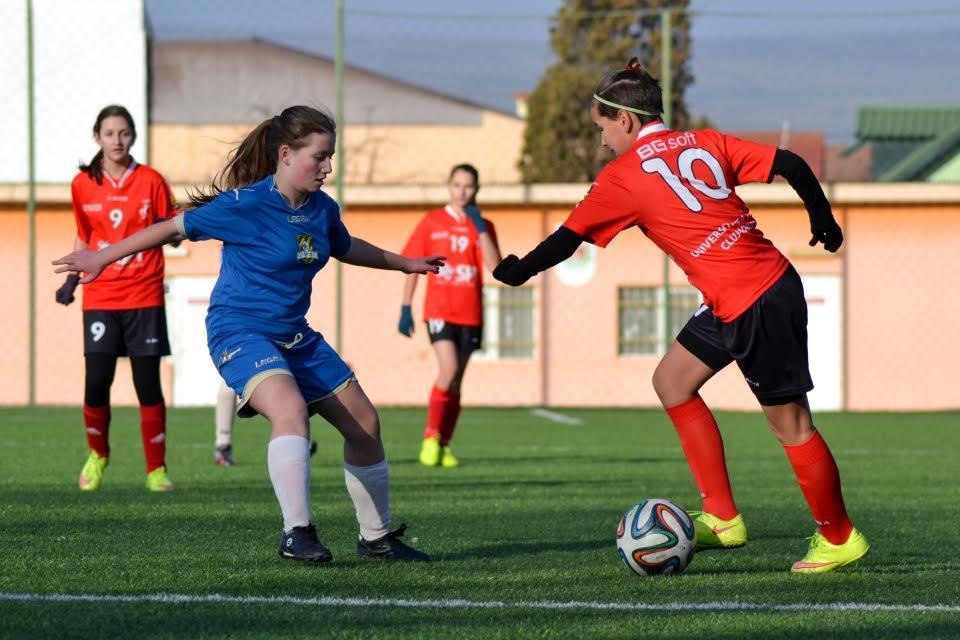 Cluj-Napoca: Începe Festivalul Fotbalului Feminin