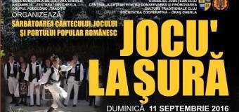 Gherla: Sărbătoarea cântecului, jocului și portului popular românesc- Jocu' la șură