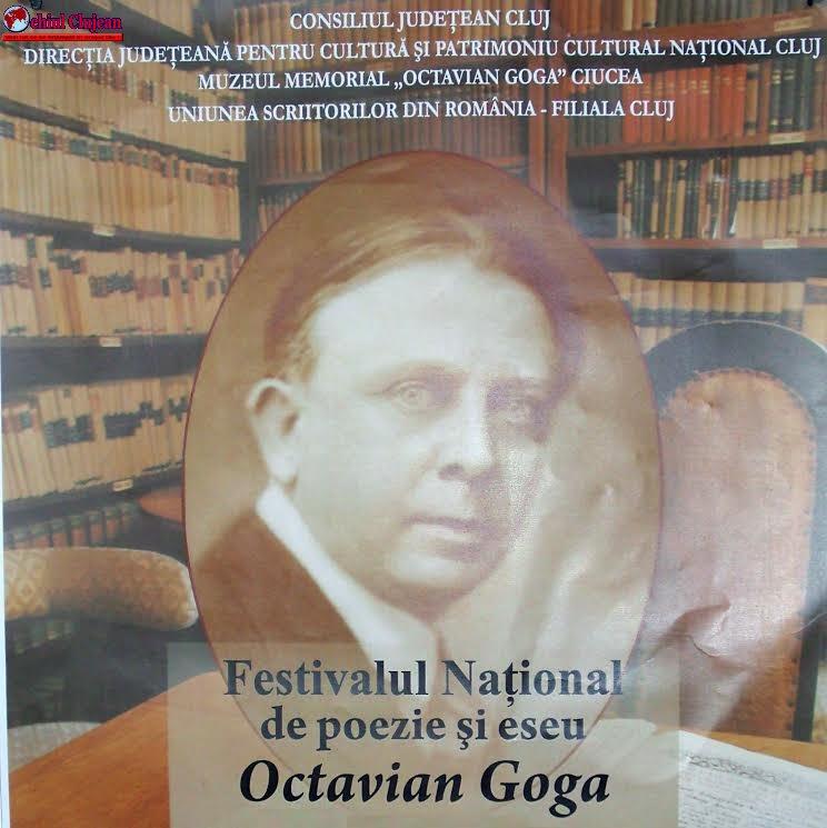 """Înscrieri la Concursul Naţional de poezie """"Octavian Goga"""""""