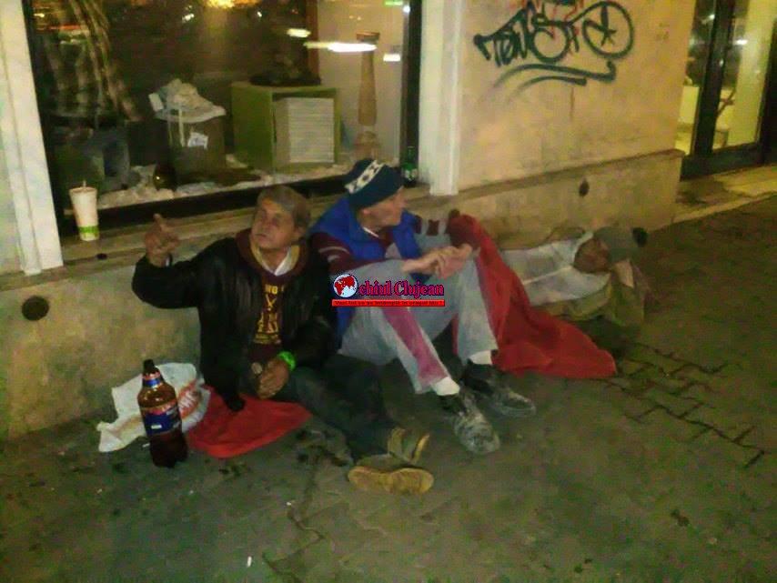 16 persoane fără adăpost, depistate de Poliția Locală