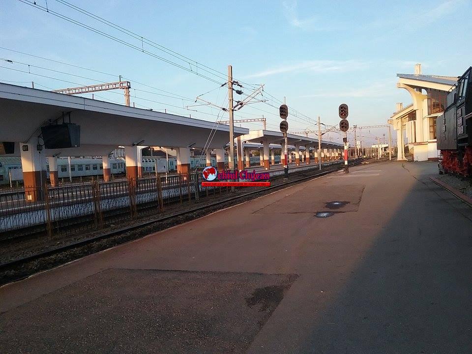 ȘOC pentru un clujean care vine cu trenul de la București ! Ce s-a întâmplat în toaletă VIDEO
