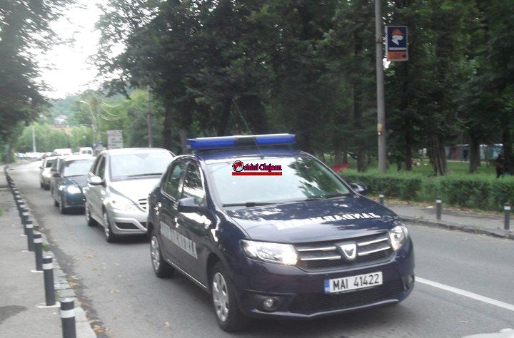 Jandarmii clujeni vor asigura măsuri  de  ordine  publică,  la  meciul de fotbal România-Danemarca